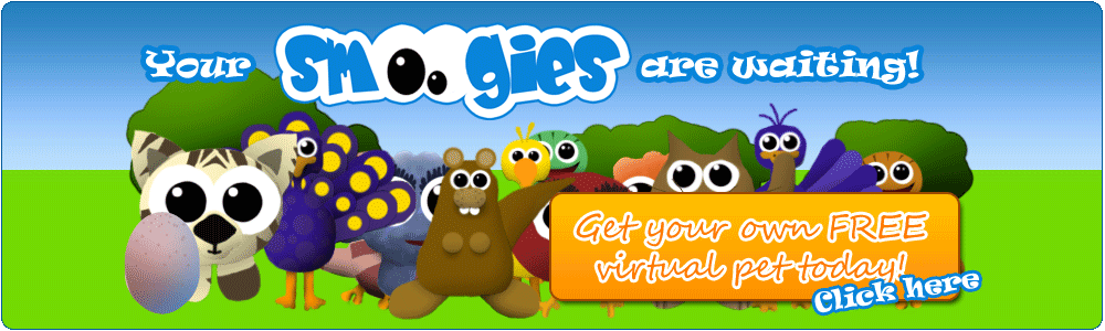 Welcome at Smoogies: Your free virtual pet!